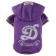 Doggydolly BIG DOG Hundesweatshirt D violett