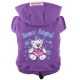 Doggydolly BIG DOG Sweatshirt Snow Angel violett