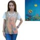 T-Shirt Cream & Gray Striped-Fish