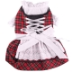 Dirndl red plaid