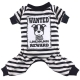 Jumpsuit Wanted schwarz Mops, Bulldogge