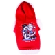 Pullover for dogs Snow santa red